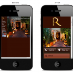mobile website for self catering ireland